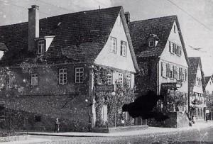 """Am 23. Juni 1946 wurde im Gasthaus """"Löwen"""" des Preisrichters Karl Schmid, in Stuttgart-Wangen der Sonderverein gegründet"""