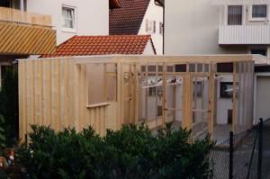 Attraktive Zuchtanlagen können auch in einem Wohngebiet bestehen.